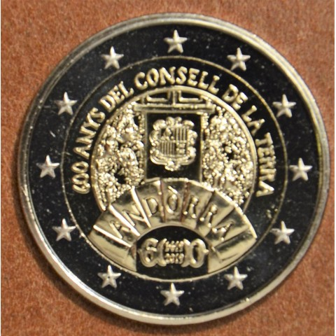 2 Euro Andorra 2019 - 600 years of the Council of the Land (UNC)