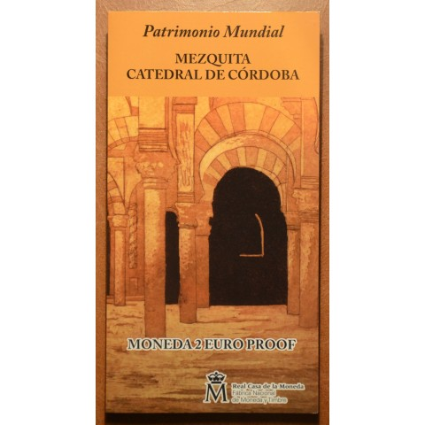 2 Euro Spain 2010 - UNESCO: The historic town center of Cordoba (Proof)