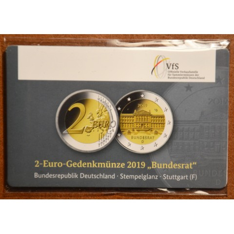 "2 Euro Germany ""F"" 2019 - Bundesrat (BU)"