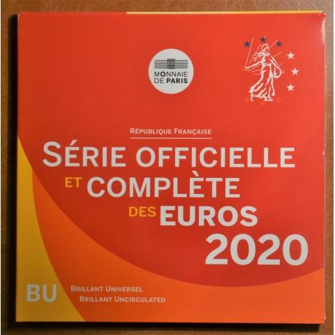 Set of 8 eurocoins France 2020 (BU)