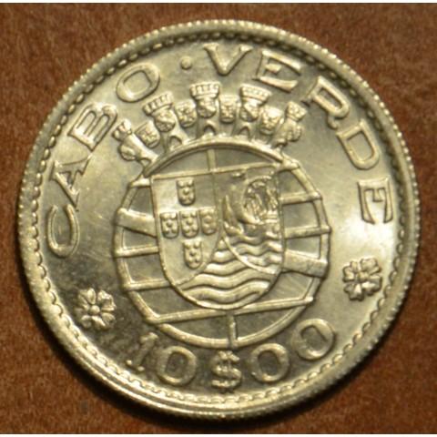 Cape verde 10 escudos 1953 (UNC/BU)