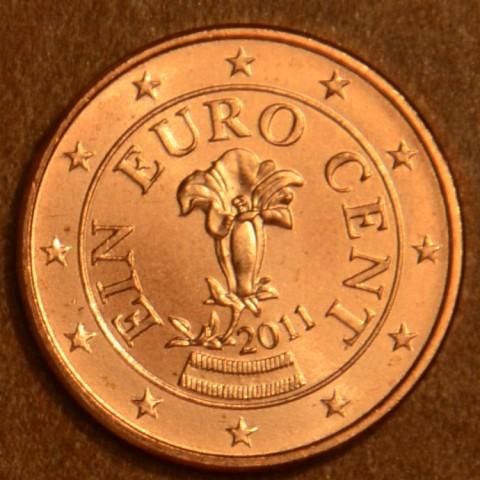 1 cent Austria 2011 (UNC)