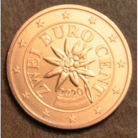 2 cent Austria 2020 (UNC)