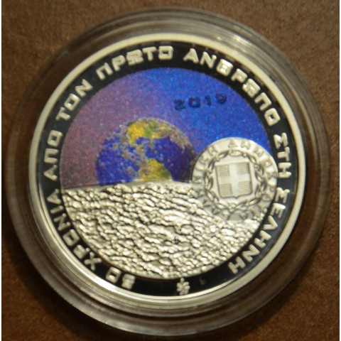 6 Euro Greece 2019 - Man on the moon (Proof)