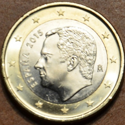 1 Euro Spain 2015 (UNC)