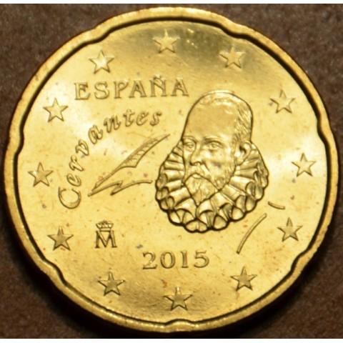 20 cent Spain 2015 (UNC)