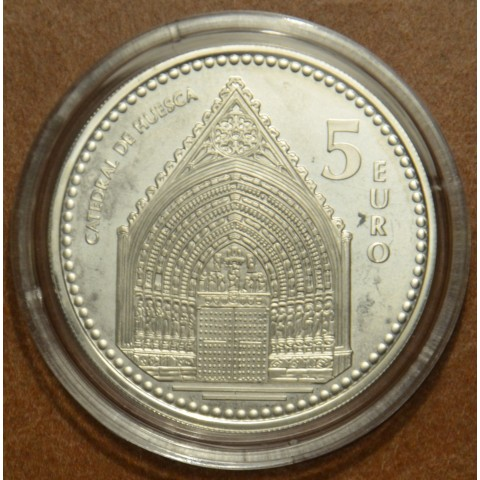 5 Euro Spain 2010 Catedral de Huesca (Proof)