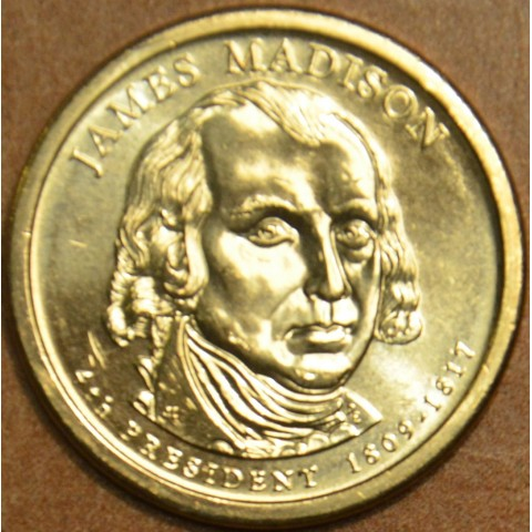 "1 dollar USA ""D"" 2007 James Madison (UNC)"