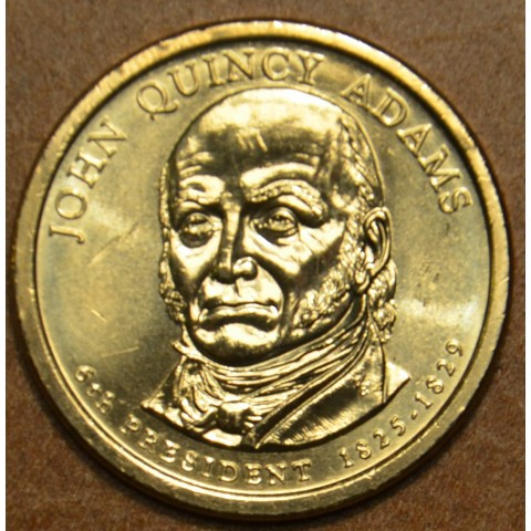 "1 dollar USA ""D"" 2008 John Quincy Adams (UNC)"