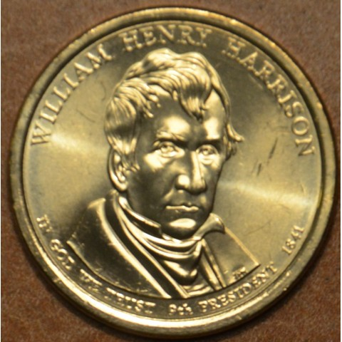 "1 dollar USA ""D"" 2009 William Henry Harrison (UNC)"