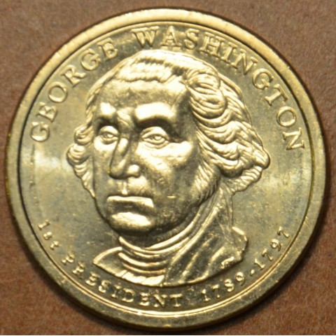 "1 dollar USA ""D"" 2007 George Washington (UNC)"