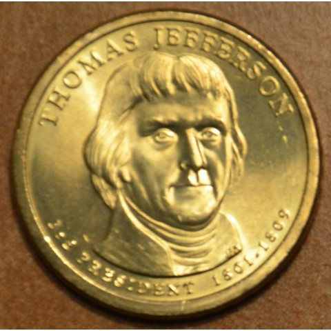"1 dollar USA ""D"" 2007 Thomas Jefferson (UNC)"