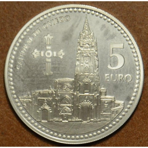 5 Euro Spain 2011 Oviedo (Proof)