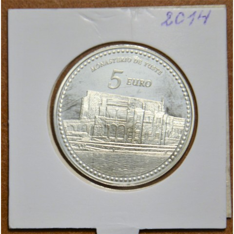 5 Euro Spain 2014 Monastery of Yuste (Proof)