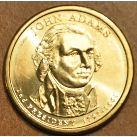 "1 dollar USA ""D"" 2007 John Adams (UNC)"