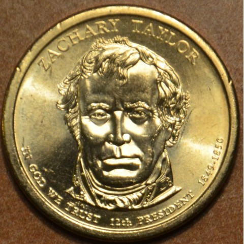 "1 dollar USA ""P"" 2009 Zachary Taylor (UNC)"