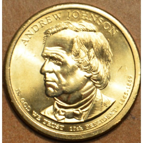 "1 dollar USA ""D"" 2011 - Andrew Johnson (UNC)"