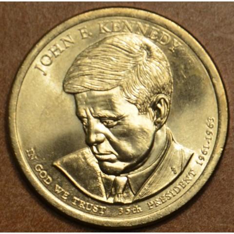 "1 dollar USA ""D"" 2015 John F. Kennedy (UNC)"