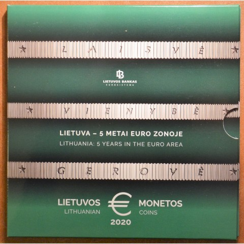 Lithuania 2020 official set of 8 coins (BU)