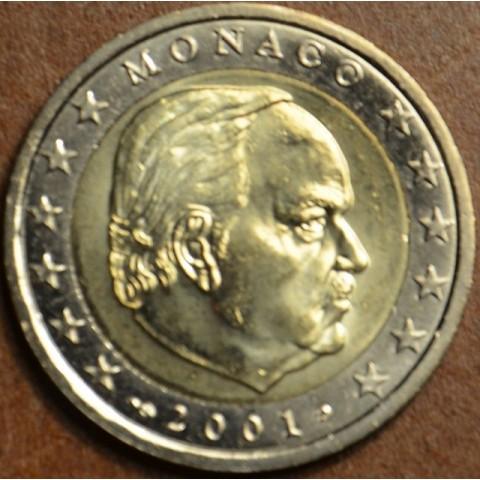 2 Euro Monaco 2001 (UNC)