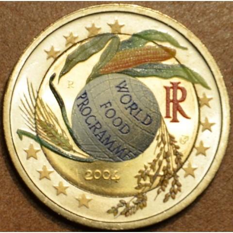 2 Euro Taliansko 2004 - 50 rokov Svetového potravinového programu (farebná UNC)