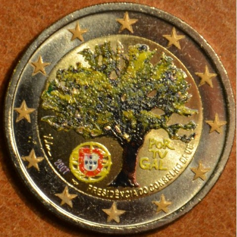 2 Euro Portugal 2007 - Portuguese Presidency of the Council of the European Union (colored UNC)