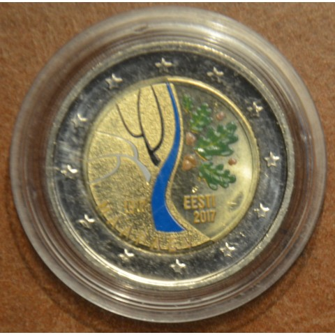 2 Euro Estonia 2017 - Road to independence V. (colored UNC)