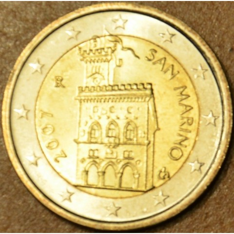2 Euro San Marino 2007 - Government House (UNC)