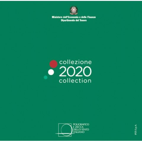 Italy 2020 set of 8 coins (BU)