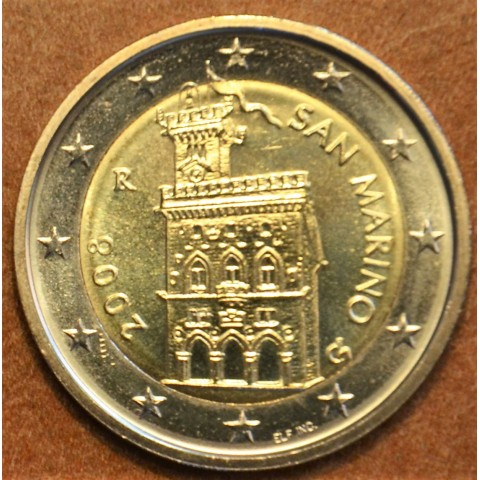 2 Euro San Marino 2008 - Government House (UNC)