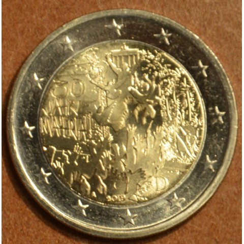 """2 Euro Germany """"A"""" 2019 - 30th Anniversary of the Fall of the Berlin Wall (UNC)"""