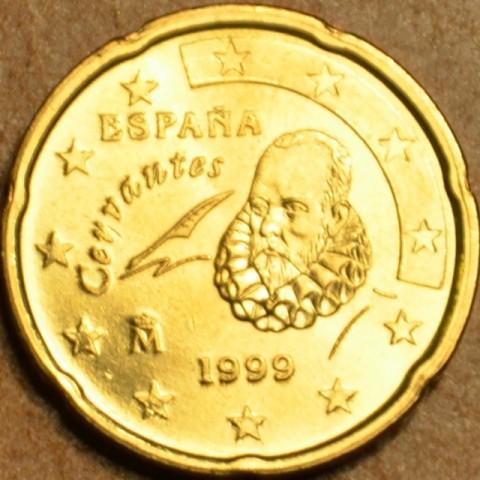 20 cent Spain 1999 (UNC)