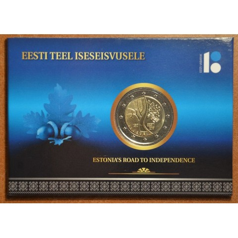2 Euro Estonia 2017 - Road to independence (BU card)