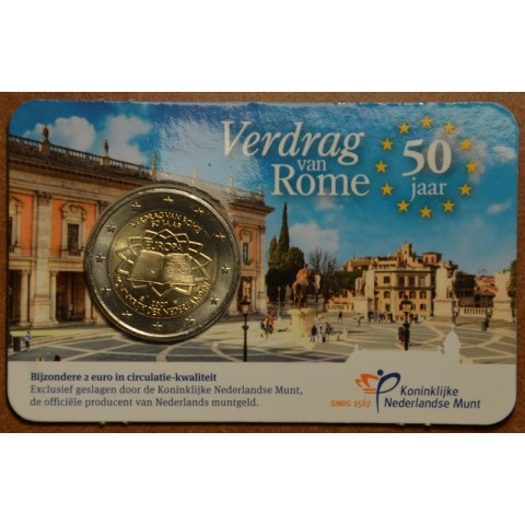 2 Euro Netherlands 2007 - 50th anniversary of the Treaty of Rome (BU card)