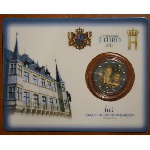 2 Euro Luxembourg 2015 - 15. anniversary of Henri's Accession to the Throne (BU)