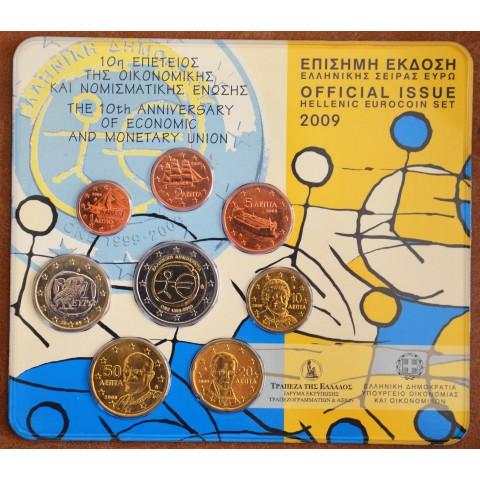 Set Greece 2009 - with 2 Euro EMU coin (BU)