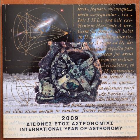 Greece 2009 set Astronomy incl. 10 Euro silver coin (UNC)