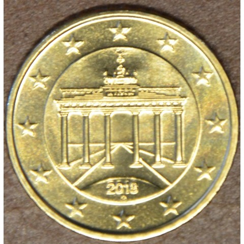"""50 cent Germany """"G"""" 2018 (UNC)"""