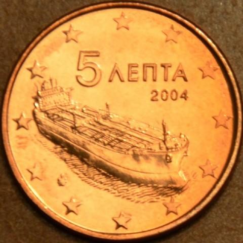 5 cent Grécko 2004 (UNC)