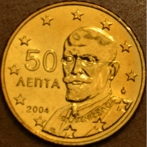 50 cent Greece 2004 (UNC)