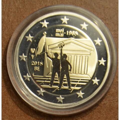 2 Euro Belgium 2018 - 1968 without box (Proof)