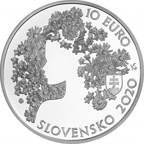 10 Euro Slovakia 2020 - Andrej Sládkovič (BU)