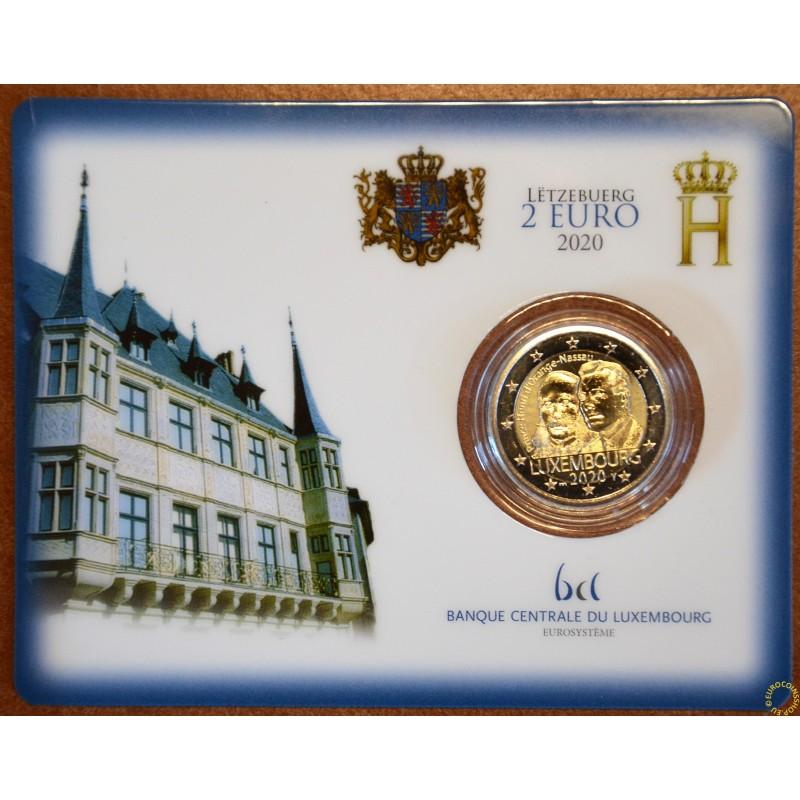 "2 Euro Luxembourg 2019 with mintmark ""bridge"" -  Prince Henry d'Orange-Nassau (BU)"