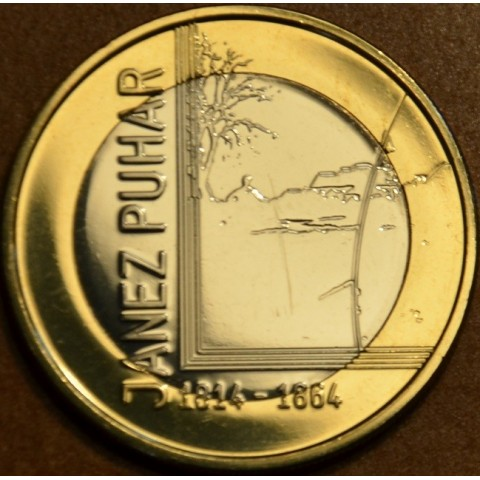 Commemorative coin 3 Euro Slovenia 2014 (UNC)