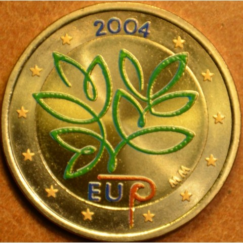 2 Euro Finland 2004 - Enlargement of the European Union by ten new Member States (colored UNC)