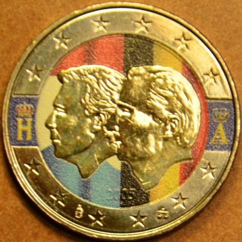 2 Euro Belgium 2005 - Belgium-Luxembourg Economic Union (colored UNC)