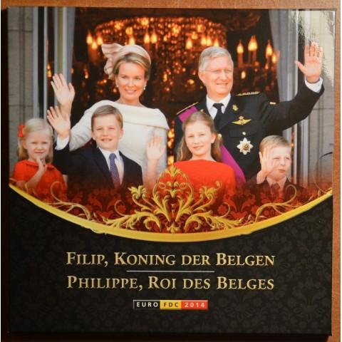Official set of coins Belgium 2014  (BU)