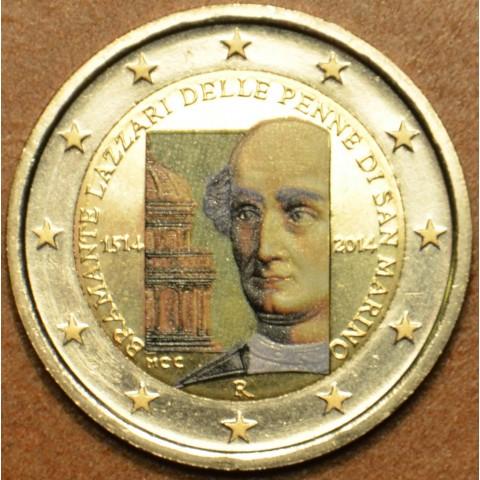 2 Euro San Marino 2014 - 500th anniversary of the death of Donato Bramante  (colored UNC)