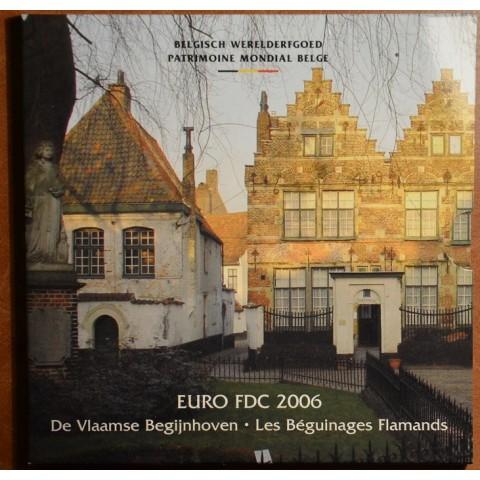 Official set of coins Belgium 2006 (BU)