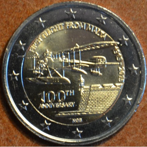 2 Euro Malta 2015 - First flight  (UNC)